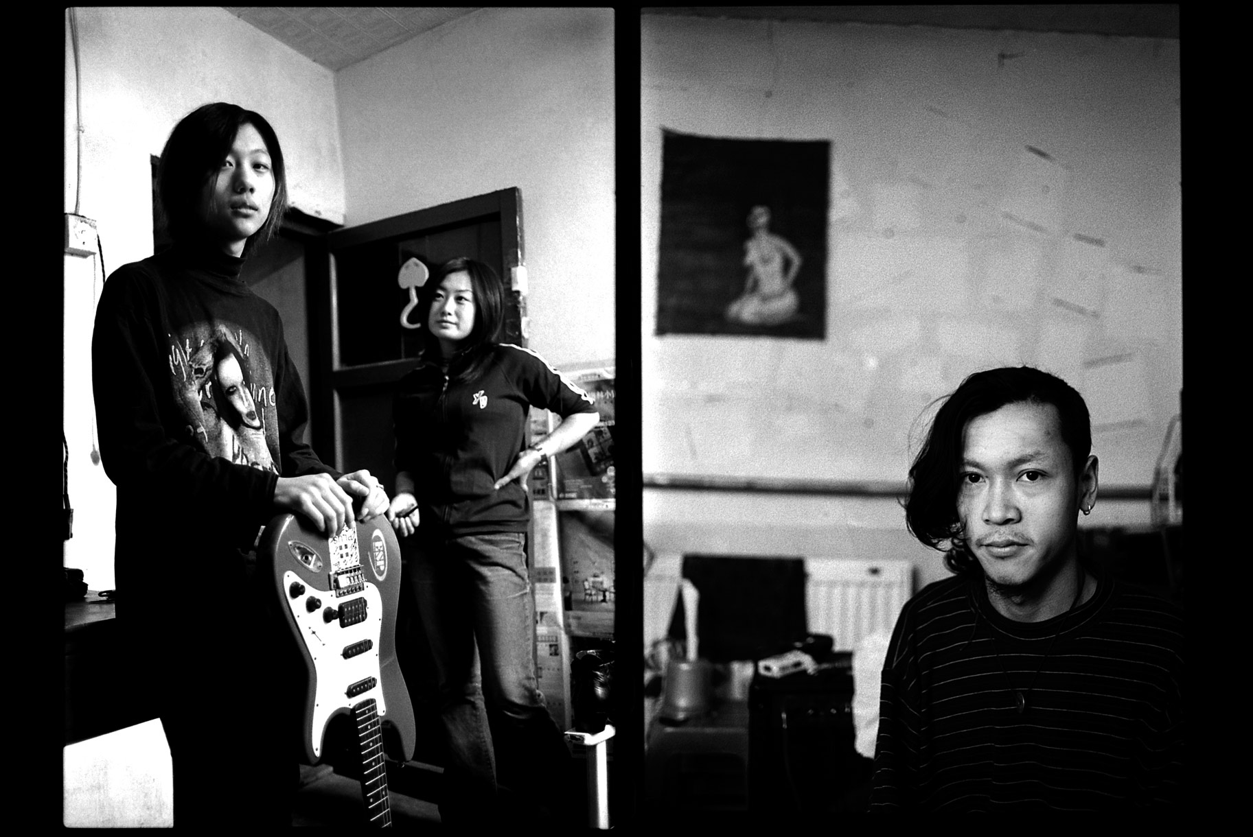 Le village de rockers de Shucun