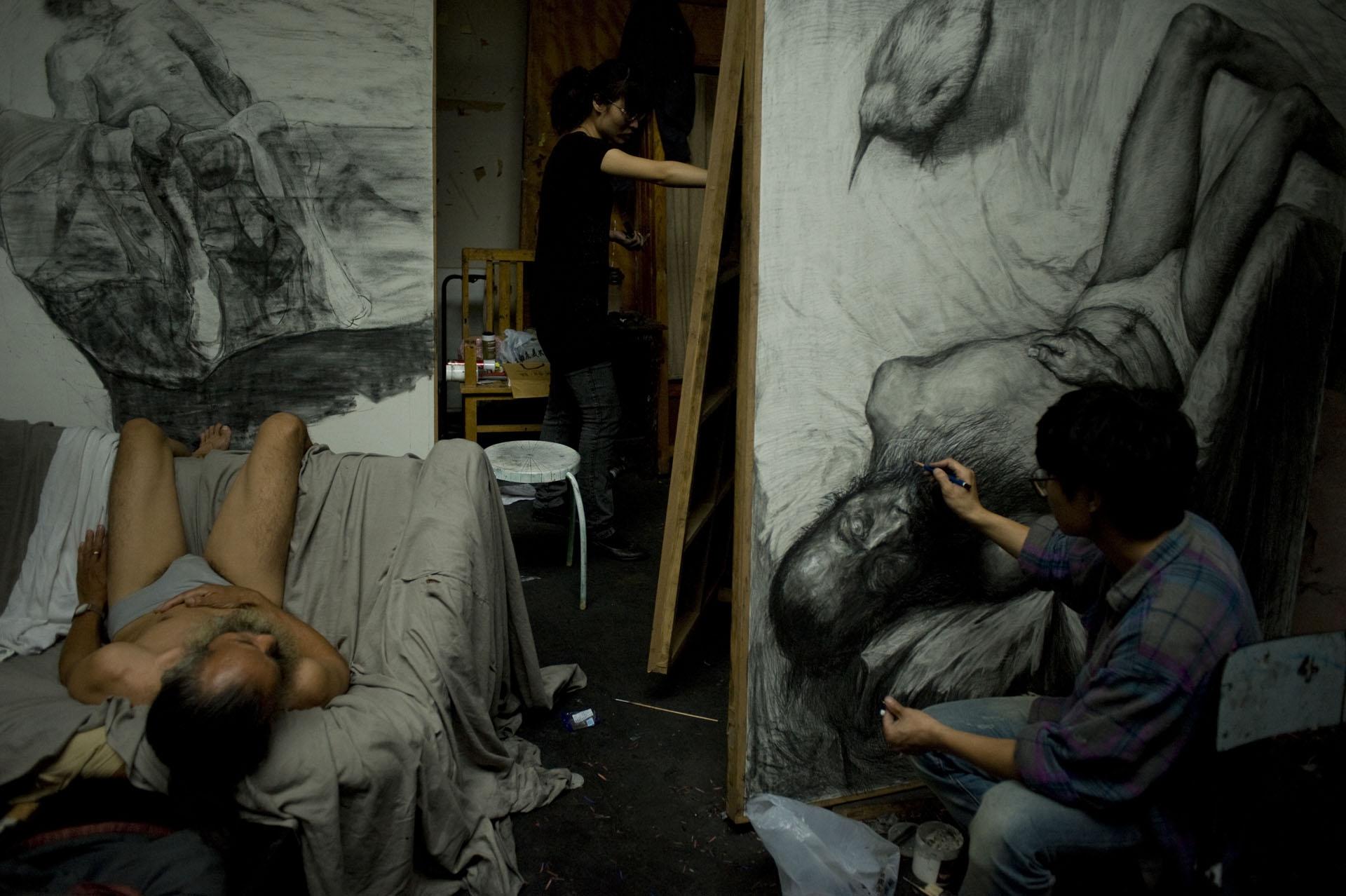 Les jeunes artistes de la CAFA