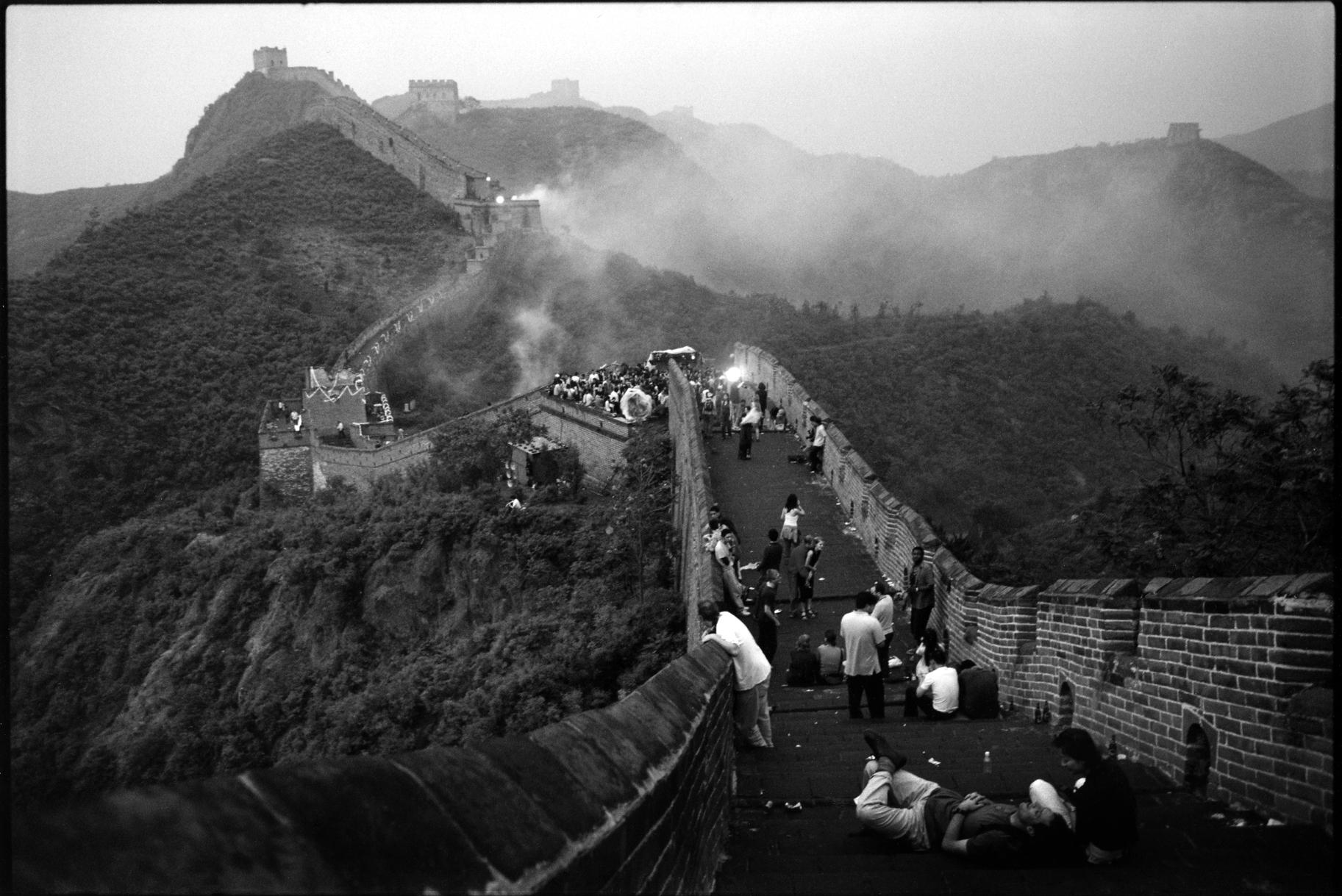 Rave Party sur la Grande Muraille 2001