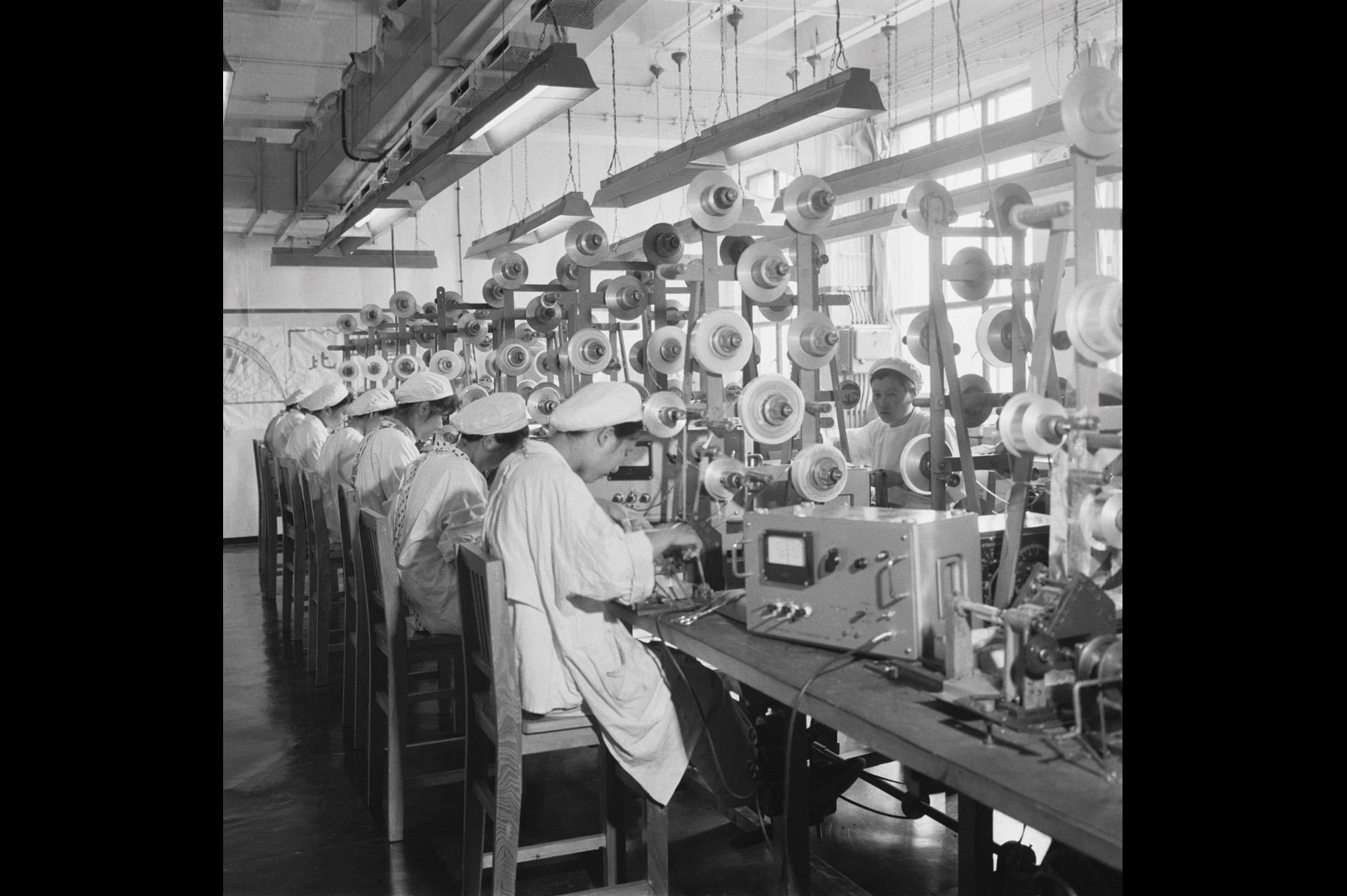 798 une usine modèle